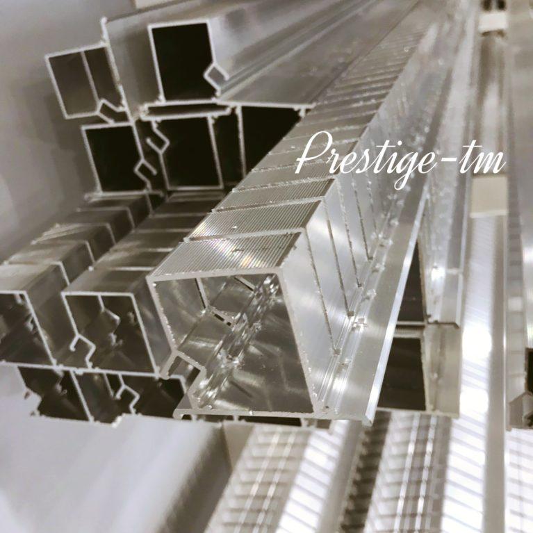 Профиль алюминиевый запиленный