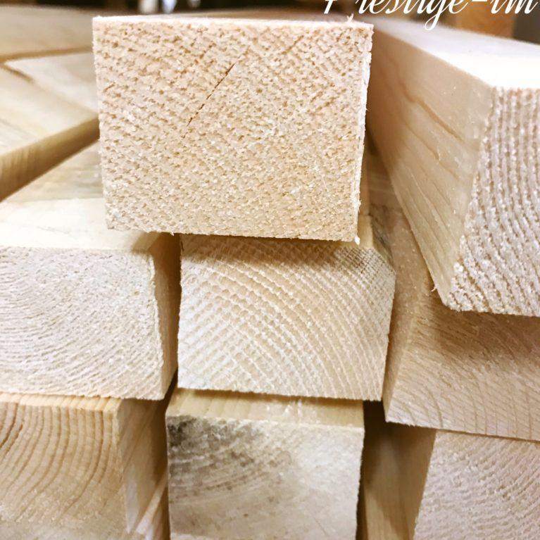 Брус деревянный 50*50 мм — 3,0 метра