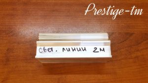 Профиль для световой линии 3645 + вставка (2,0 м)
